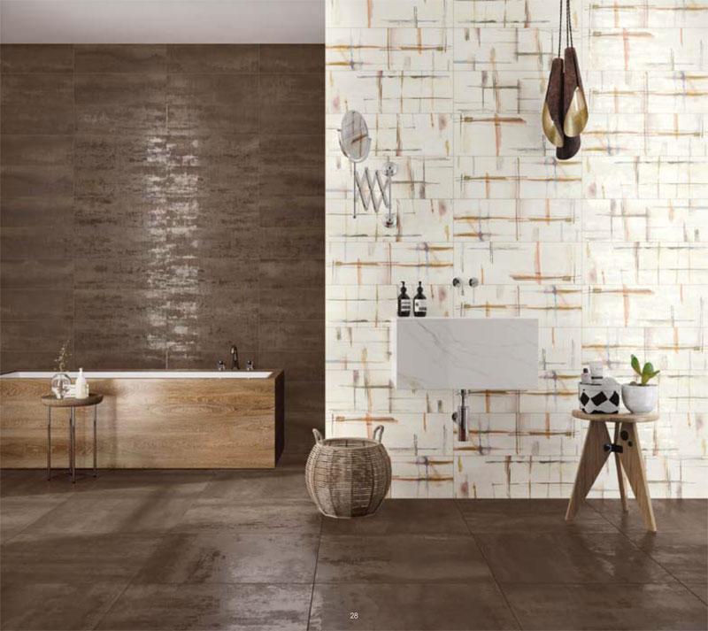 Pavimenti e rivestimenti per ristrutturazione bagno a - Piastrelle bagno legno ...