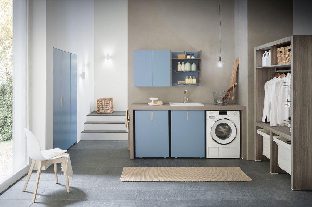 Mobili arredo bagno per lavanderia - Quadrarco