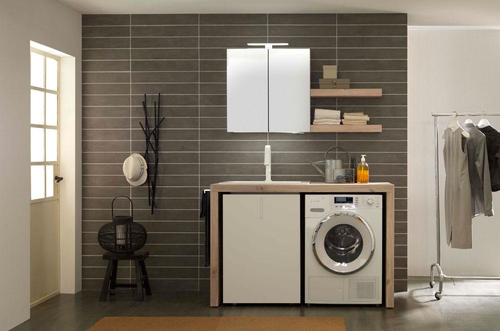 Mobili arredo bagno per lavanderia quadrarco - Arredo per lavanderia di casa ...